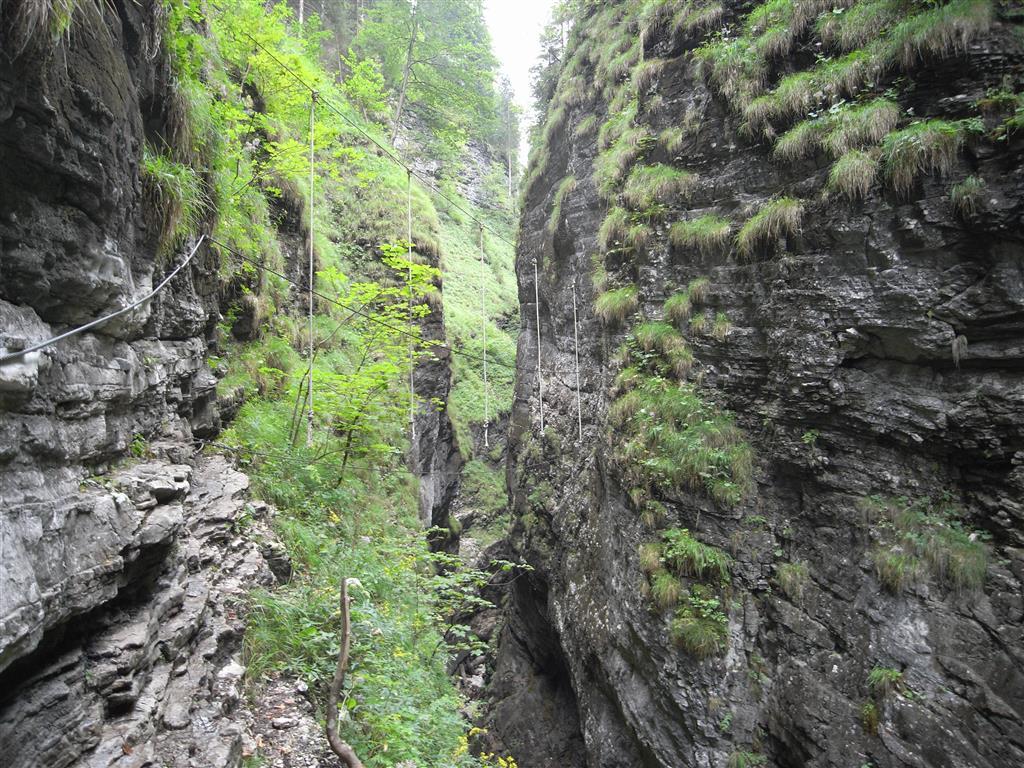 Klettersteig Postalmklamm : Klettersteig postalmklamm am wolfgangssee tauchsport