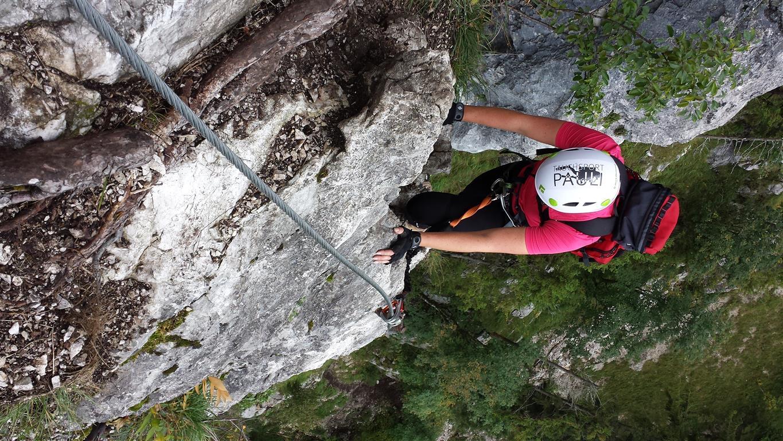 Klettersteig Mahdlgupf : 20.09.2014: mahdlgupf im 2. anlauf tauchsport pauli