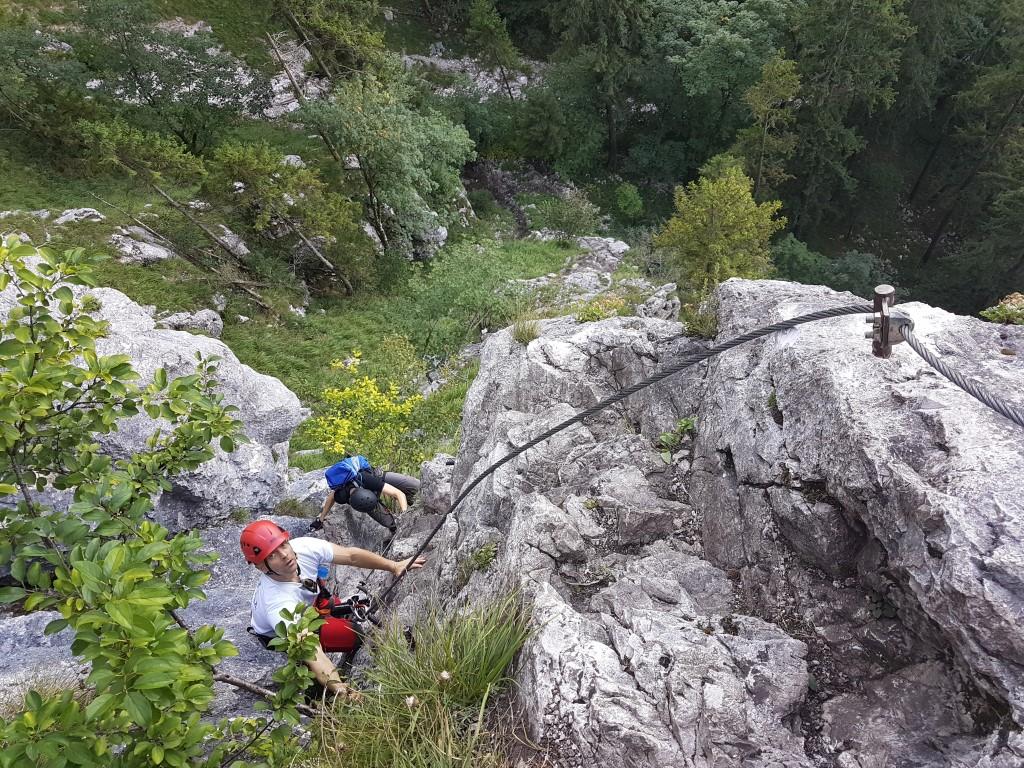 Klettersteig Mahdlgupf : Achis gipfelpunkte mahdlgupf m