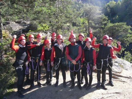 Team Pauli - Canyoning am 01.08.2010